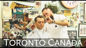 the nite owl barber shop toronto canada haircut harry experience