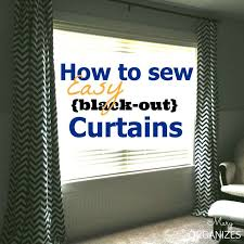 Sewing Draperies Best 25 Diy Blackout Curtains Ideas On Pinterest Blackout
