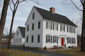 colonial homes cch residential settlement traditional exterior boston by
