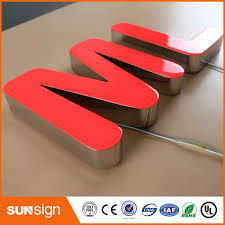 wholesale led sign custom outdoor sign led light affiliate
