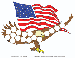 celebrate memorial day with dab and dot worksheet u2013 doodle hog