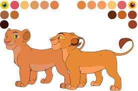 sarafina sarabi cub color sheet mydlasfanart deviantart