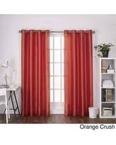 Orange Panel Curtains 96 Inch Curtain Panels Deals U0026 Sales At Shop Better Homes U0026 Gardens
