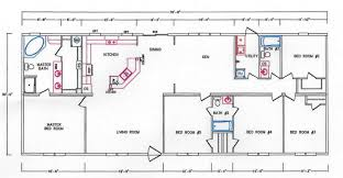 Bedroom Floor Planner by 5 Bedroom Floor Plan K 32 Hawks Homes Manufactured U0026 Modular