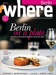 ents cuisine ind endants where magazine berlin nov 2017 by morris media issuu
