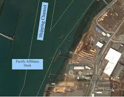 Eureka California Map Schneider Dock Humboldt Bay Harbor District