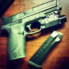 smith and wesson m p 9mm tactical light m p full size smith wesson and guns