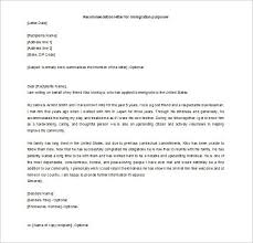 how to write a reference letter for immigration best business