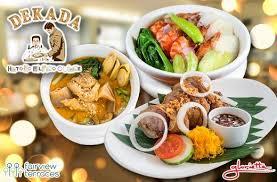 promo cuisine 30 dekada s package meal promo in glorietta ayala terraces