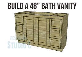 Build Your Own Bathroom Vanity Cabinet Barnwood Bathroom Vanity Plans Vanities Decoration