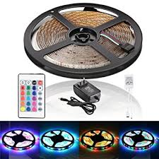 Automotive Led Light Strips Amazon Com Litake Led Light Strip Waterproof 12 Volt 16 4ft 5m