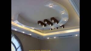 decoration faux plafond salon decoration platre moderne 213558953746 youtube