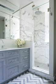 White And Gray Bathroom by White Porcelain Marble Like Bathroom Tiles Contemporary Bathroom