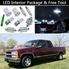 chevy silverado interior lights 14pcs led interior lights package kit fit 95 98 chevy silverado