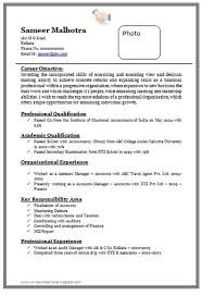 resume format doc for fresher accountant over 10000 cv and resume sles with free down