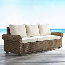echo beach latte roll arm sofa pier 1 imports