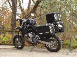 best rack and luggage for drz 400 sm motorcycles