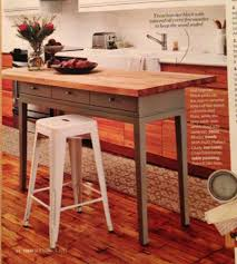 how to build a butcher block island table home table decoration diy kitchen island using a console table and a butcher block easy diy kitchen island