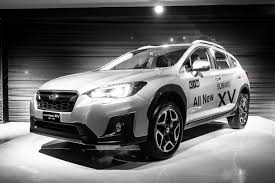 subaru crosstrek black wheels the 2018 subaru xv is here auto jamaica gleaner