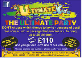 ultimate kids play centre holmfirth events