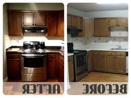 Restaining Kitchen Cabinets Darker Awesome Restain Kitchen Cabinets Black 33 Staining Your Kitchen