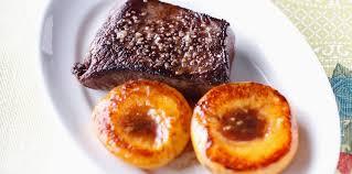 cuisiner le chevreuil facile filet de chevreuil à la pêche rôtie facile recette sur cuisine