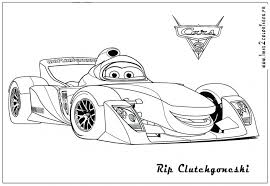 Download Coloring Pages Car Page Cars 3 Free Printable Lightning Lighting Mcqueen Coloring Page