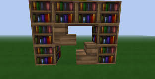 54 minecraft bookshelf how to build a bookshelf door free