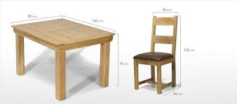 Inspirationinteriors Table Dimensions Standard Dining Chairs U Inspiration Interiors