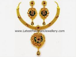 gold new designs necklace images Tanishq gold necklace designs latest pakistani jewellery jpg