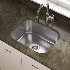 Mr Direct Sinks And Faucets 2318 16 Gauge Undermount Single Bowl Stainless Steel Sink Bar