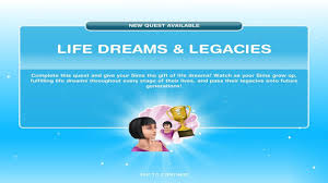 sims freeplay life dreams and legacies quest youtube