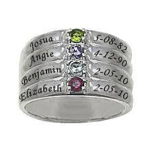 mothers ring with names 44 best family ring ring ideas images on family