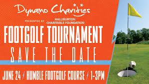 dynamo charities to host inaugural foot golf tournament june 24