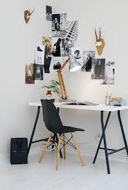 bureau avec treteau bureau sur tréteaux simple et efficace