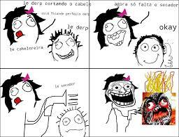 Le Derp Meme - derp no cabelereiro meme by zidannes98 memedroid