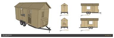 tiny house plans tiny home builders a modern single level tiny house design