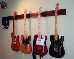 How To Hang Pictures On Wall by How To Hang Guitar On Wall Wall Art Design