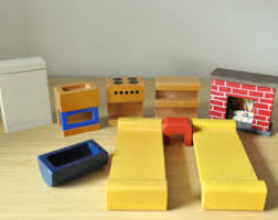 Dollhouse Modern Furniture by Creative Playthings Etsy