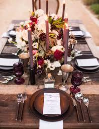 Fall Table Decorations by 5 Fall Wedding Decor Ideas Destination Weddings U0026 Honeymoons