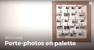fabriquer un porte photos en palette recycler youtube