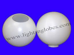 white plastic outdoor lighting 12 round plastic globe outdoor light pole lamp fixture post