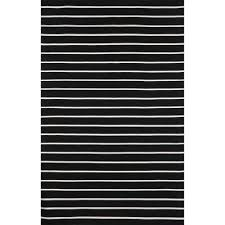 Black White Striped Rug Striped Outdoor Rugs U0026 Mats Dfohome