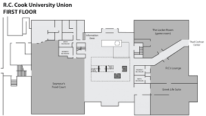 game room floor plans r c cook university union the university of southern mississippi