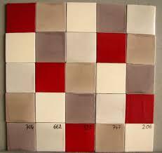 Carrelage Rouge Sol by Chambre Enfant Faience Rouge Et Blanc Carrelage Damier Rouge Et
