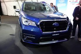 dark purple subaru 2019 subaru ascent arrives with 19 cupholders automobile magazine