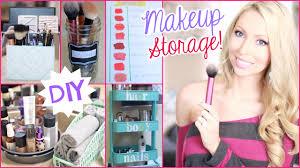 diy makeup storage and organization ideas youtube
