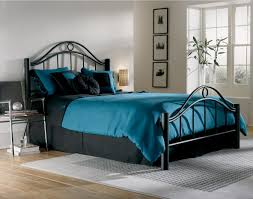 bed u0026 bedding cozy laminate wood flooring with metal bed and