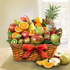 fruit gift baskets tropical fruit gift basket figi s