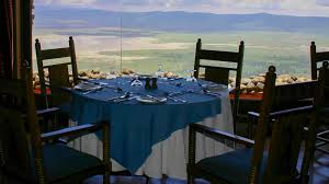 Crater Lake Lodge Dining Room by Ngorongoro Serena Lodge Stone Built Lodge On A Real Crater